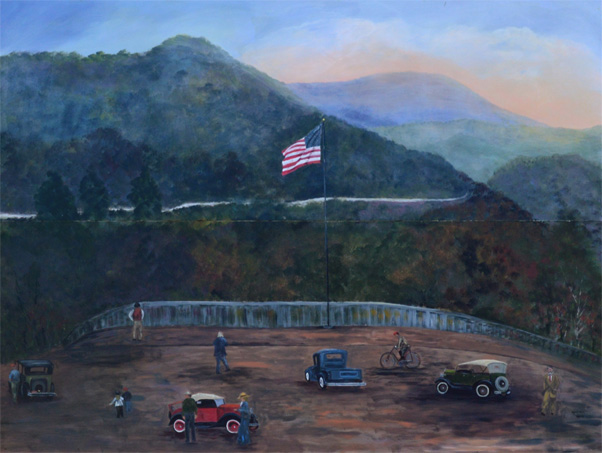 Old Fort Nc Map.7 Wonders Historic Murals Of Old Fort Nc Appalachian Mural Trail